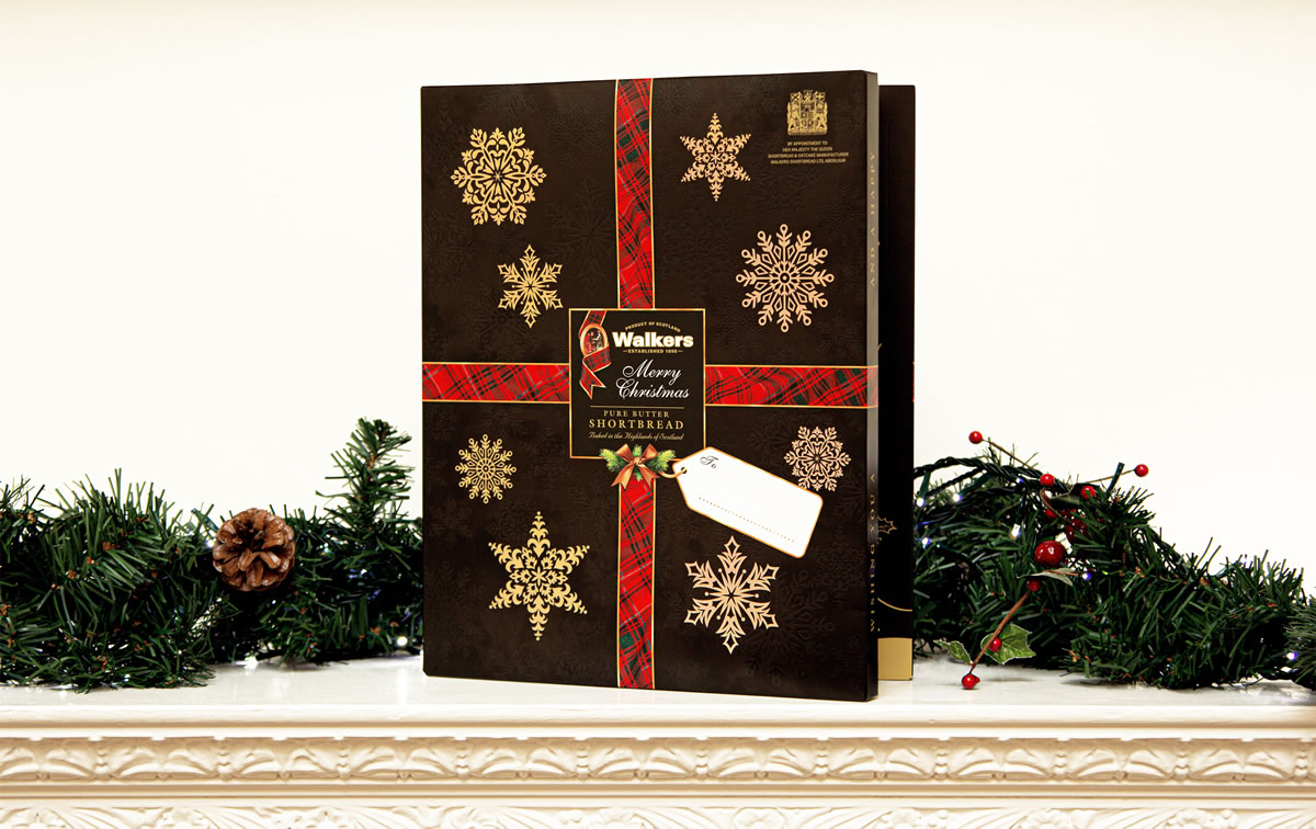 Walkers Shortbread Is Launching A Limited Edition Advent Calendar