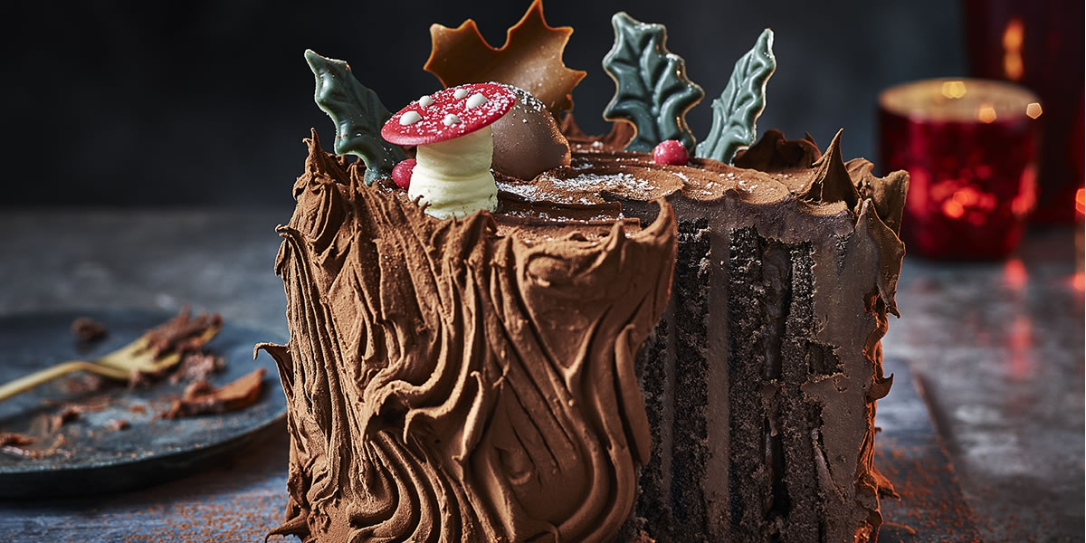 M&S Christmas food 2019: Enchanted Forest Yule Log