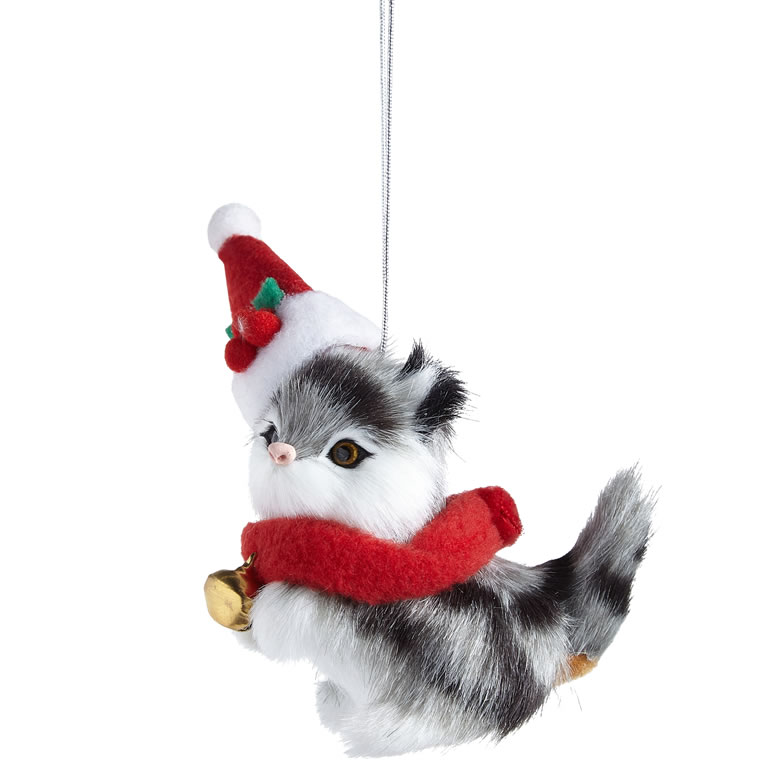 John Lewis & Partners ABC Fur Festive Cat Hanger