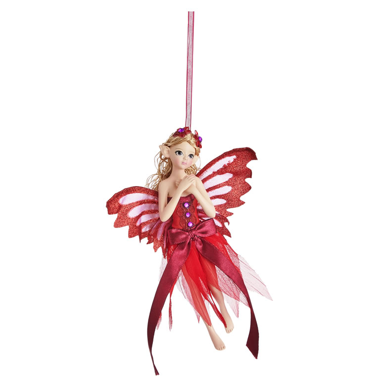 John Lewis & Partners Traditions Red Fairy