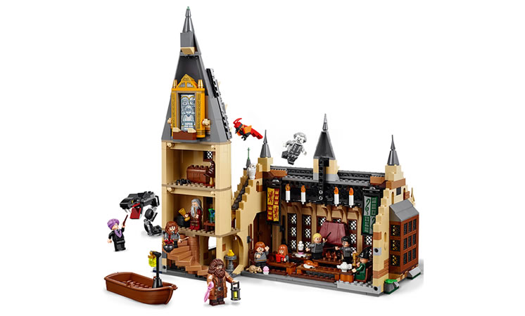 LEGO Harry Potter 75954 Hogwarts™ Great Hall - £89.99