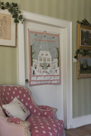 Susie Watson Hand-embroidered Christmas House Advent Calendar