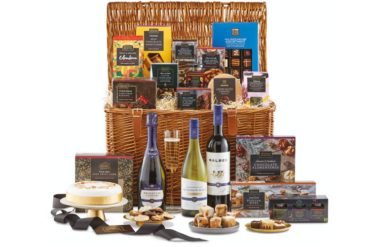 Aldi Christmas Feast Hamper (£79.99)