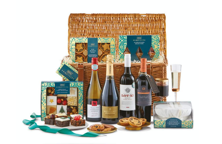 Aldi The Exquisite Hamper (£99.99)