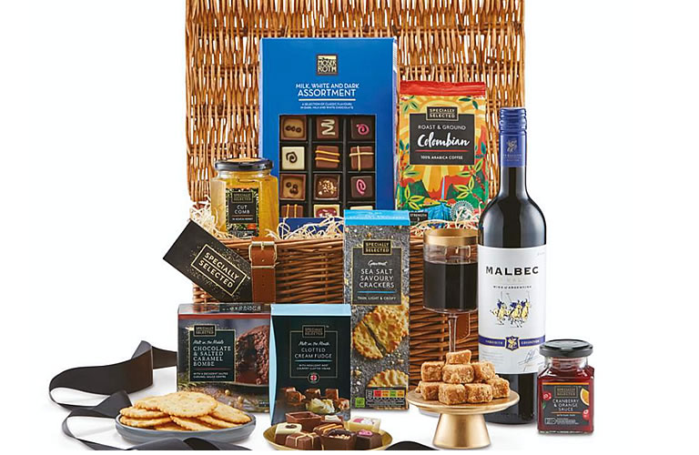 Aldi Specially Selected Treats Hamper (£34.99)