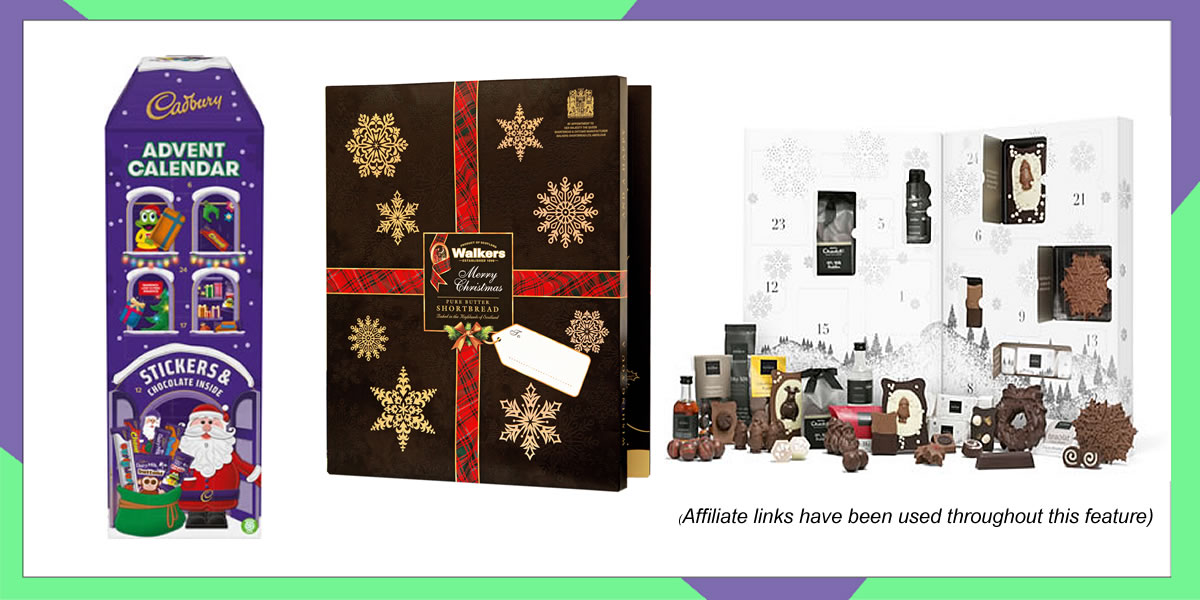The best food Christmas advent calendars 2019