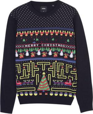 Burtons pacman christmas jumper