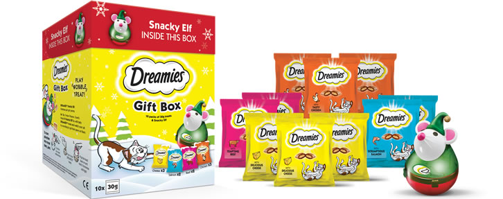 Dreamies Christmas Gift Box 2019
