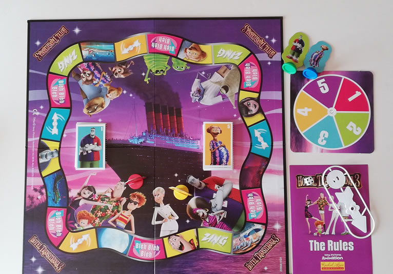 Hotel Transylvania 3 - Board Game