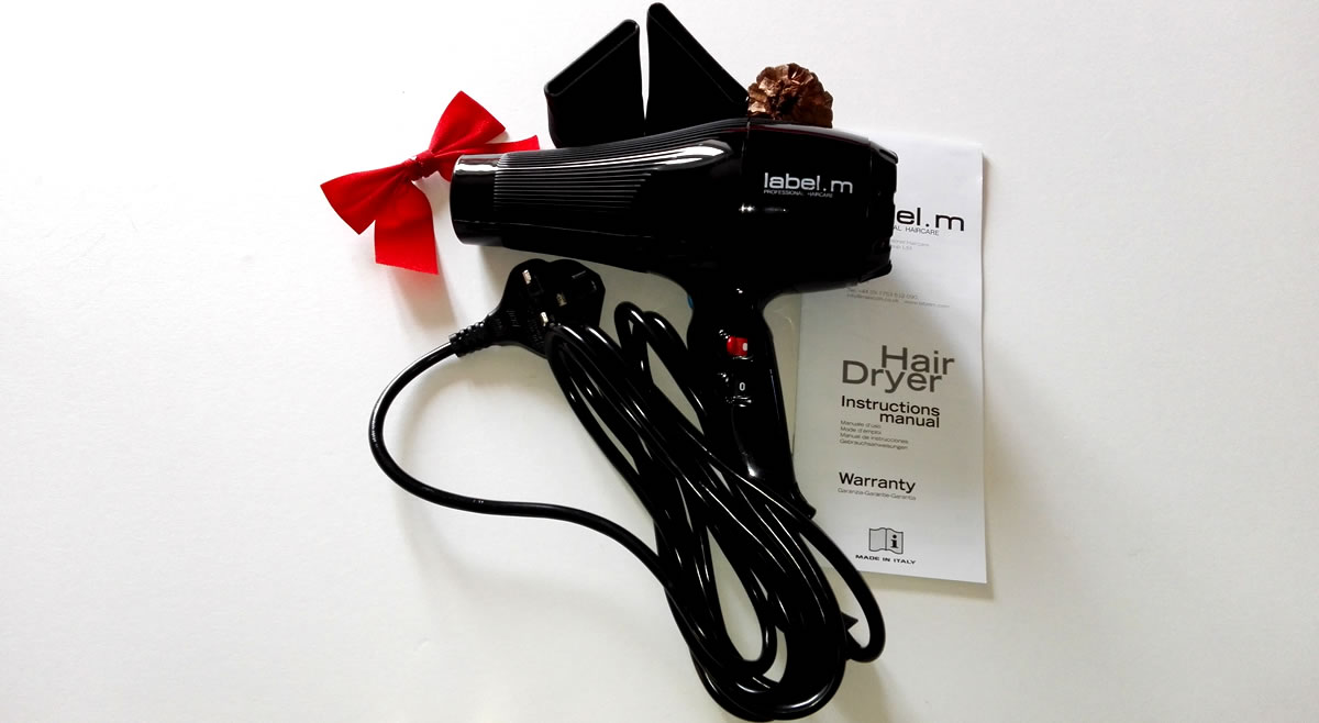 Image of Label M hairdryer