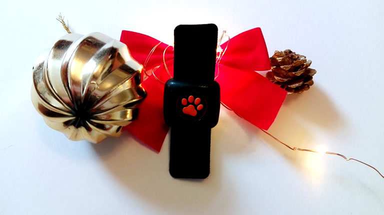 Image of PipPat Dog Activity Tracker out of box