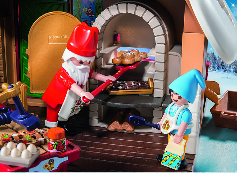 Image of Playmobil Bakery set up