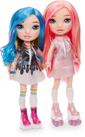 Image of Poopsie rainbow dolls