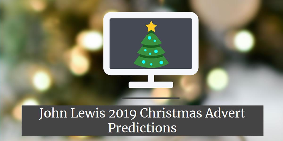 John Lewis 2019 Christmas Advert Prediction