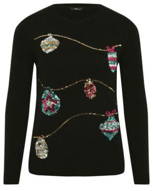 M&Co bauble jumper