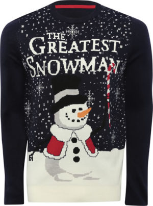 Image of M&Co the greatest snowman jumper
