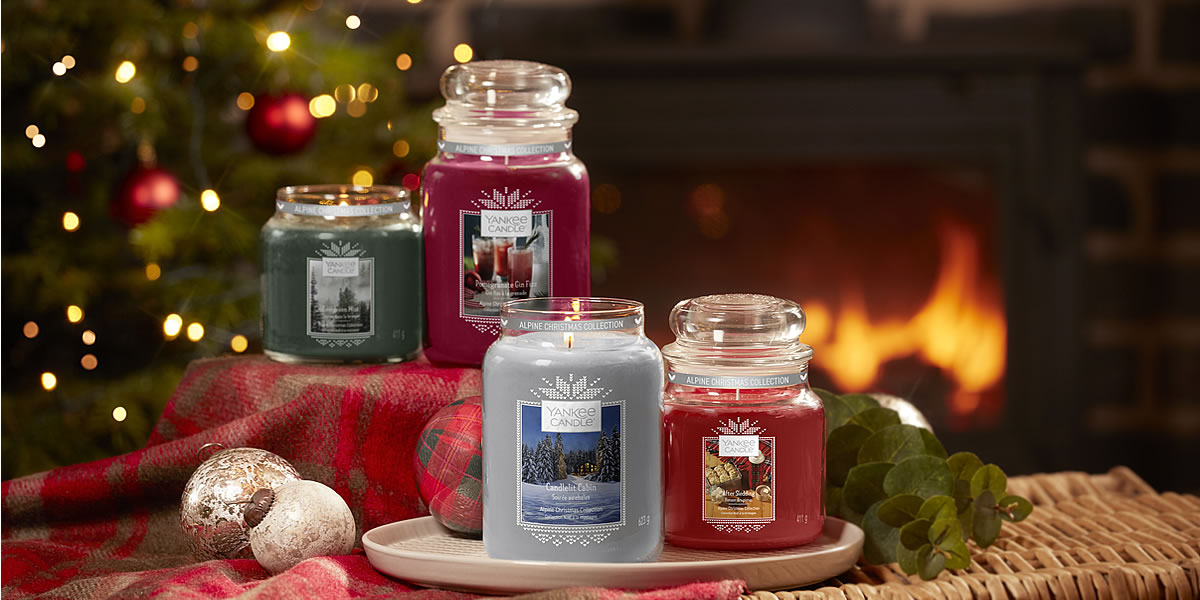 Yankee Candle Cristmas 2019 Alpine Collection
