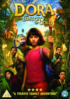 Dora and the Lost City of Gold DVD