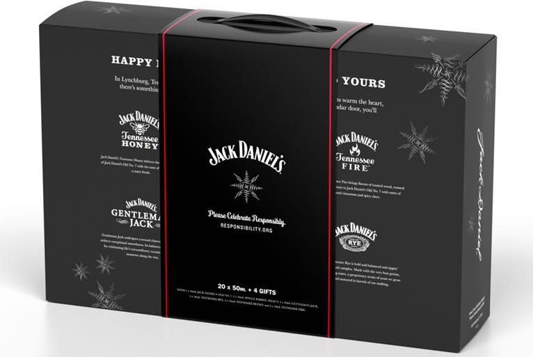 Jack Daniel's 2019 Holiday Countdown Calendar