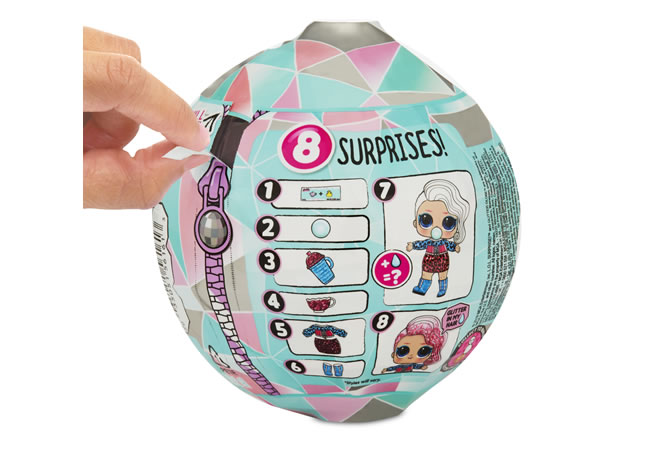 L.O.L Surprise! - Glitter Globe Winter Disco £11.00