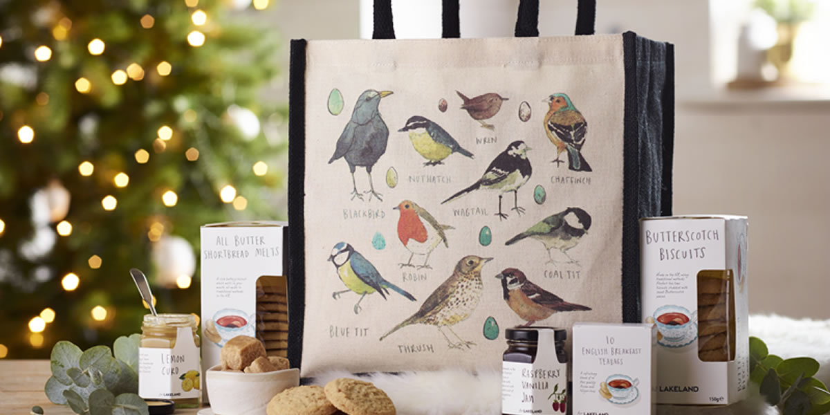 Lakeland's Exclusive Garden Birds Hamper Tote