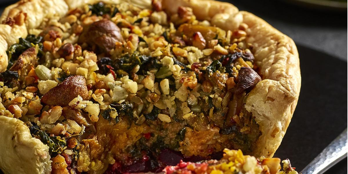 Morrisons The Best Vegetable Layered Tart