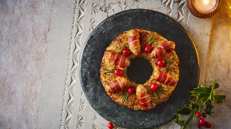 Taste the Difference Festive Quiche