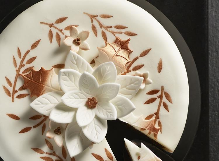 Morrisons The Best Poinsettia Cake