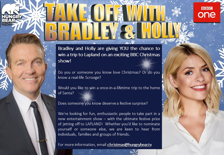 Take Off with Bradley Walsh and Holly Willoughby
