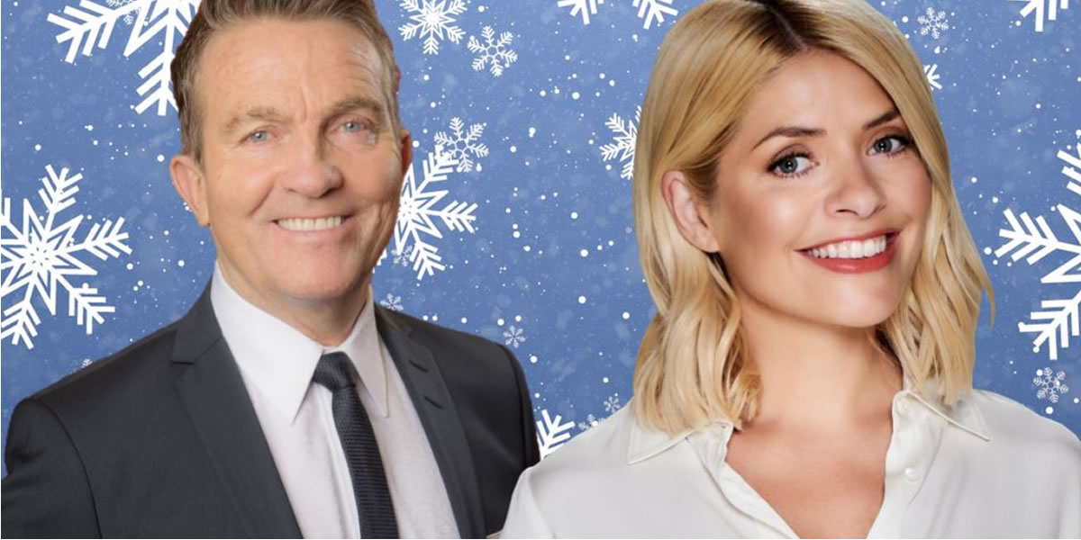 Bradley Walsh and Holly Willoughby
