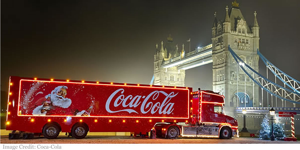 Coca-Cola 2019 Christmas Truck Tour Dates