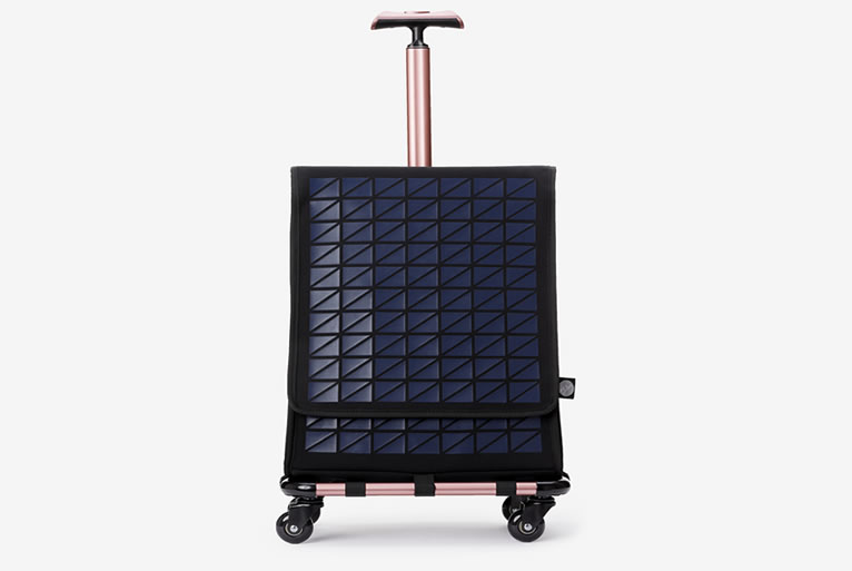 Farino City Carrier - Blue and Rose Gold