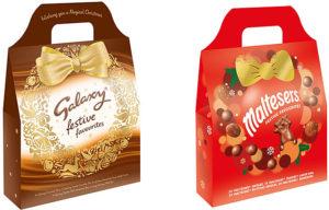 Mars: Festive Favourites, Galaxy and Maltesers