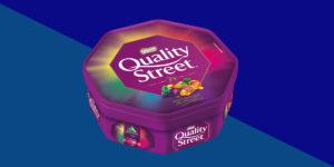 Quality Street Christmas Tubs