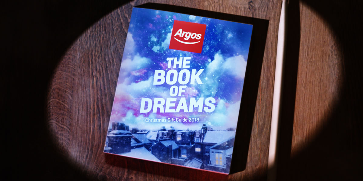 Image Of Argos The Book Of Dreams Catalogue 2019