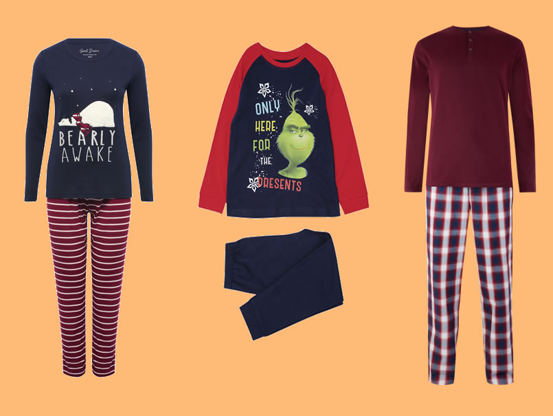 Image of Christmas pyjamas
