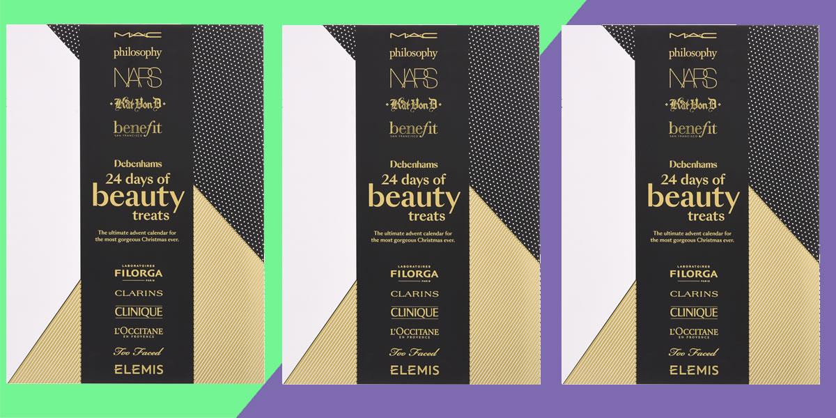 Image of Debenhams beauty advent calendar
