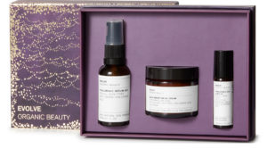 Image of evolve skin icons organic beauty collection