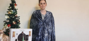 Image of Invisbility Cloak demonstration
