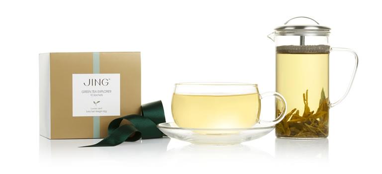 Image of Jing green tea set