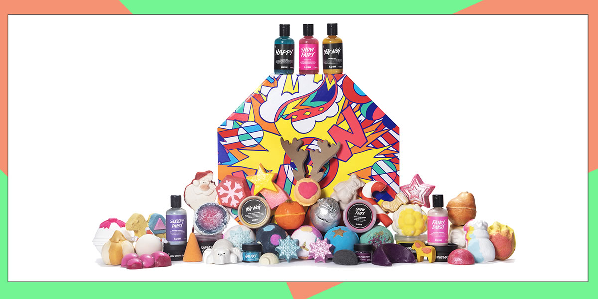 Image of Lush Christmas range