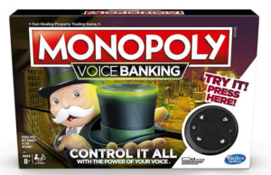 Image of monopoly voice banking