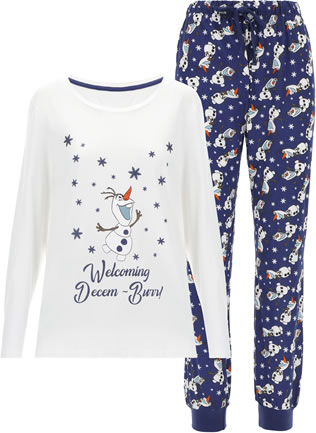 JD Willaims Frozen Pyjamas