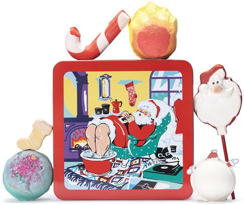 Lush Santa's Grotto gift set