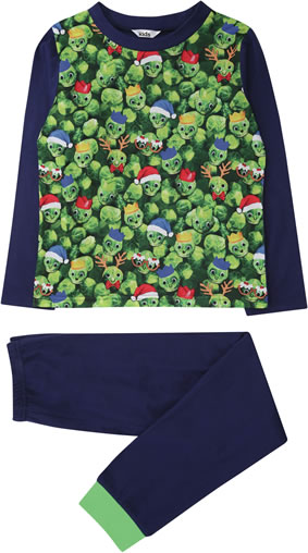 M&CO kids brussel sprout pyjamas