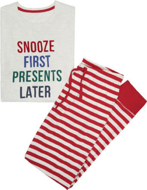 Marks And Spencers Snooze First Presents Later