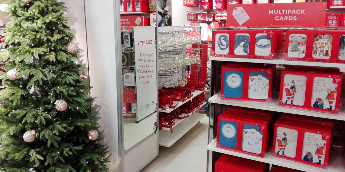 Marks and Spencer launches Christmas in-store