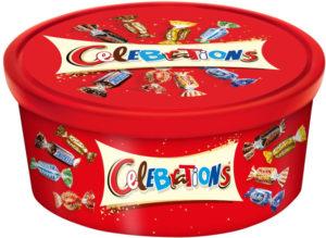 Mars UK - Celebrations tub