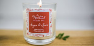 Natural Beauty Pot sugar and spice candle