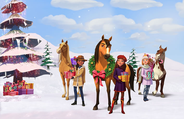 Spirit Riding Free: The Spirit of Christmas - Available 6th December 2019